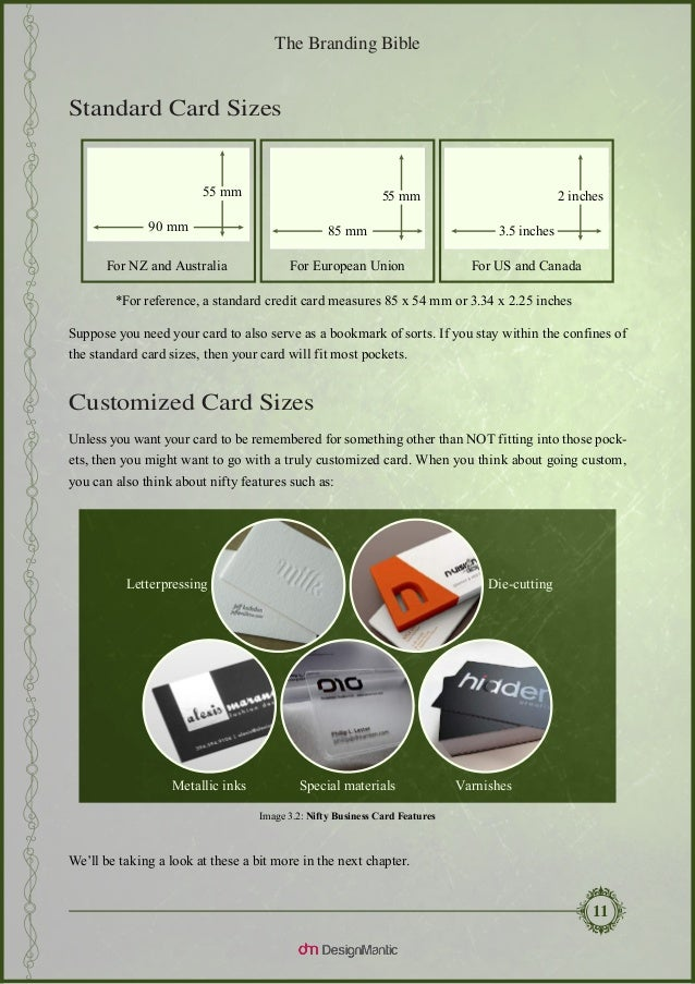 Standard Business Card Size Europe Images - Business Card Template