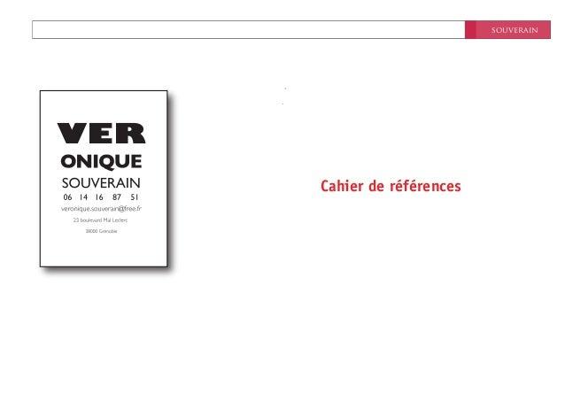 souverainNovembre 2011Cahier de référencesVER
