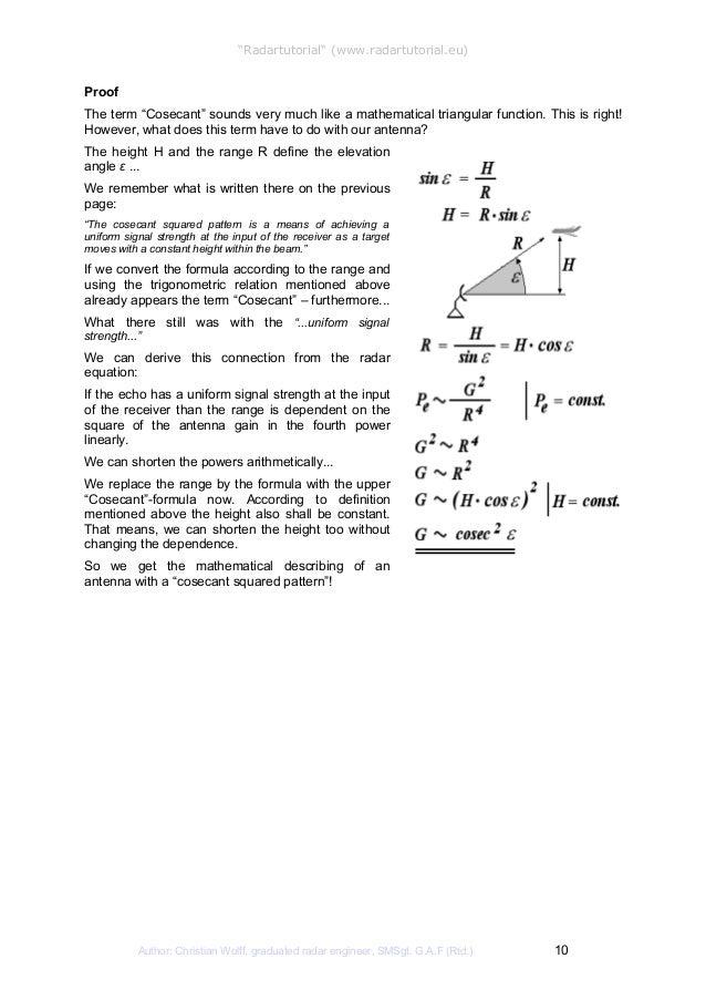 "Book 3: ""Antennae Techniques"""