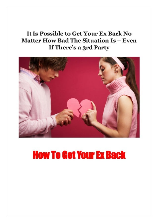 How to get even with an ex