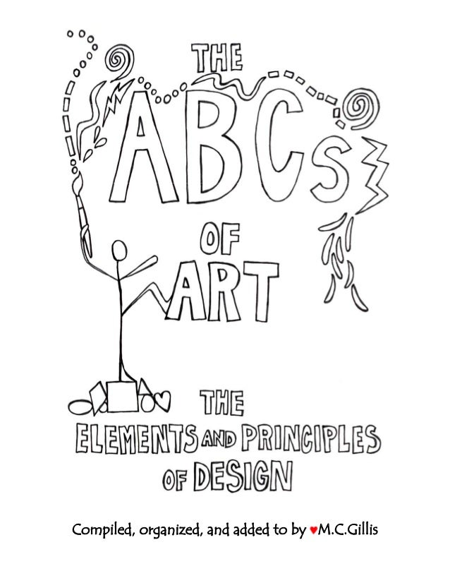 Books On Elements And Principles Of Design : Book ab cs ofart b w elementsandprinciplesofdesign