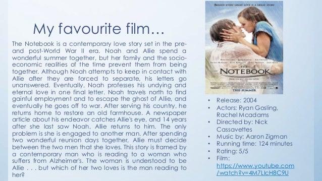 Favorite movie essay