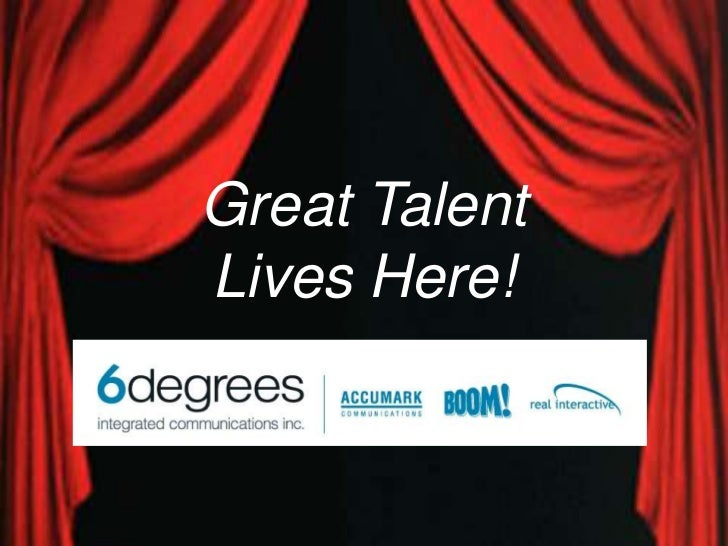 Great Talent <br />Lives Here!<br />