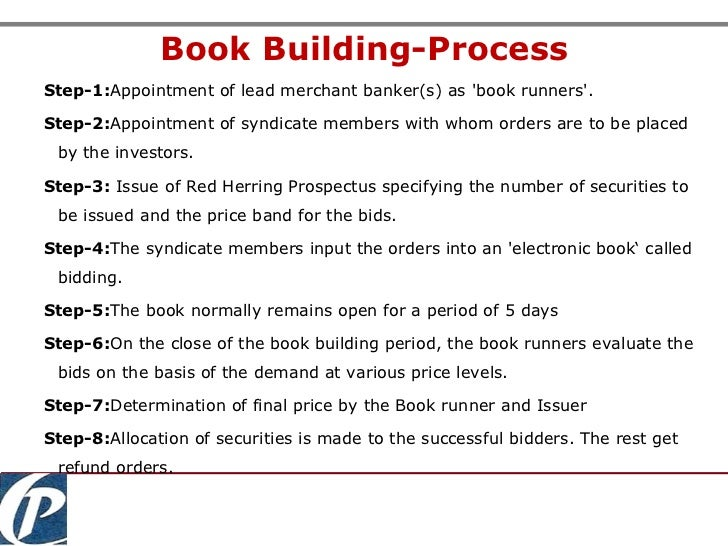 book building process notes