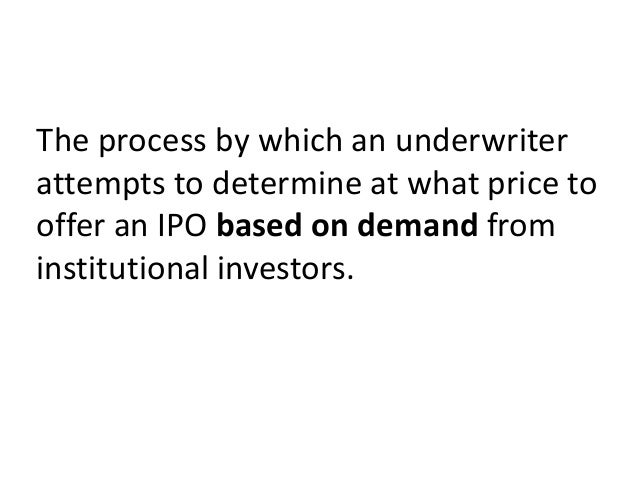 ISSUE PRICEIS DETERMINED AFTER    After Bid is