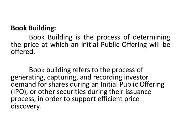 Book building Slide 2