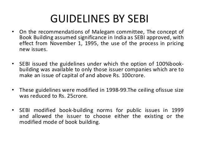 Modified Guidelines • Compulsory display of demand at the terminals was madeoptional. • The reservation of 15% of the issu...