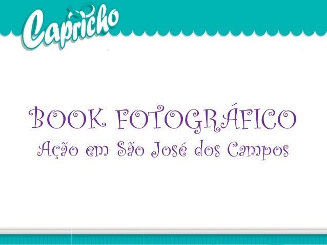 BOOK FOTOGRÁFICO Ação em São José dos Campos
