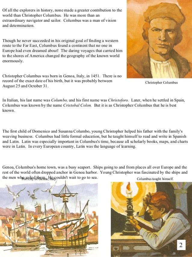 a brief history of christopher columbus and the native americans Christopher columbus derived most of his income from slavery, de las casas noted in fact, columbus was the first slave trader in the americas  world peace native americans peace history slaves.