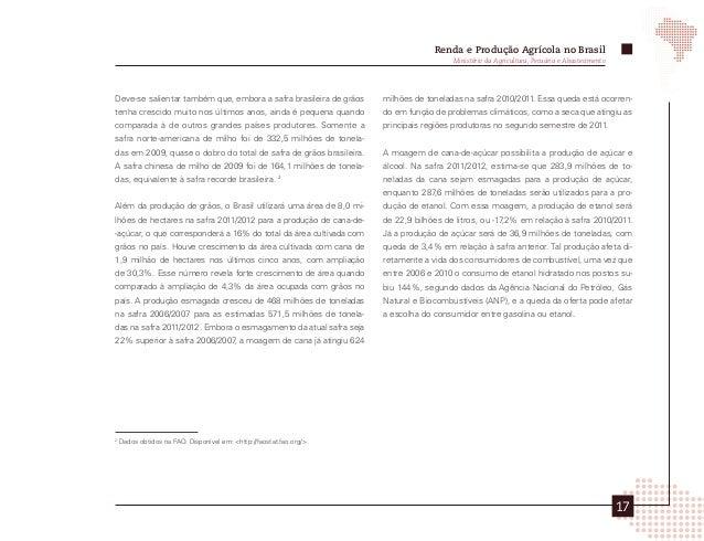 Balança Comercial Agrícola Brasileira         Comércio Exterior da Agropecuária Brasileira - Principais Produtos e Mercado...