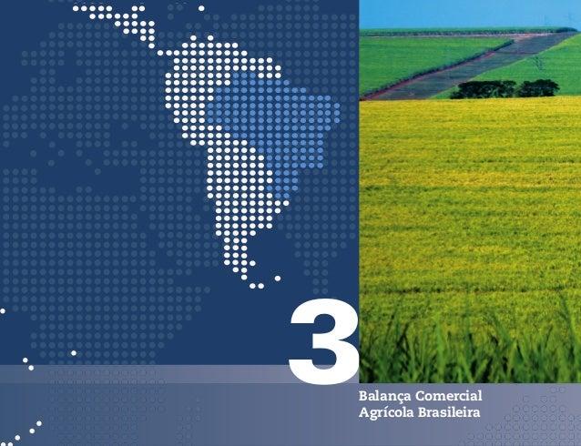 4Comércio Exterior AgrícolaBrasileiro - Principais Produtos