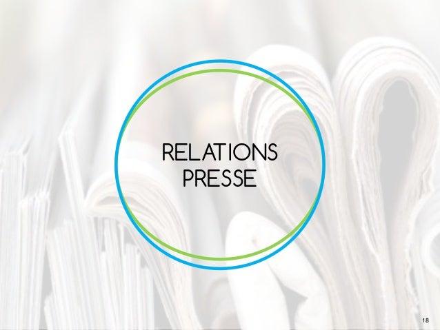 RELATIONS PRESSE 18