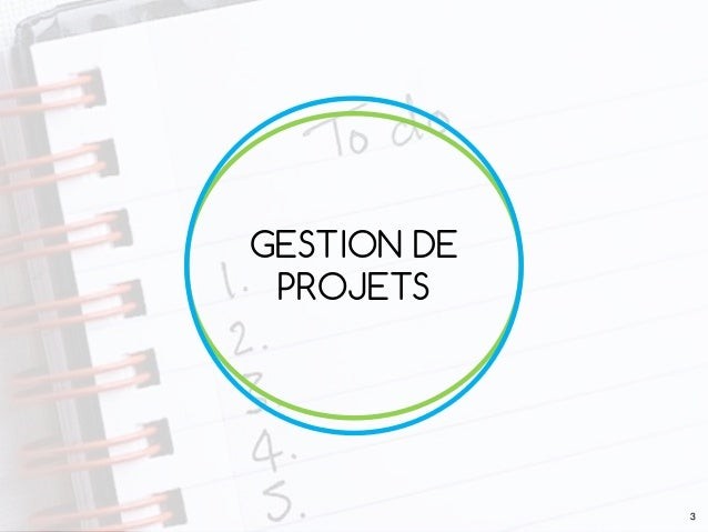 GESTION DE PROJETS 3