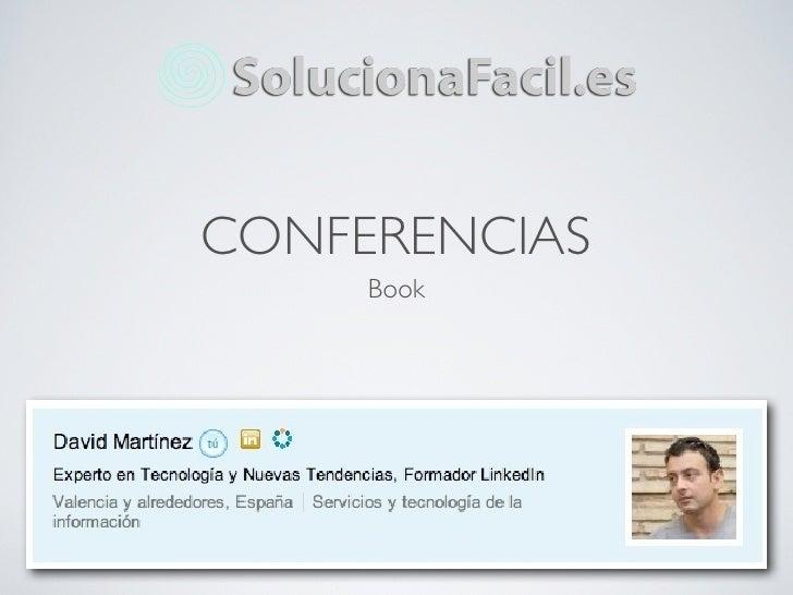 CONFERENCIAS     Book
