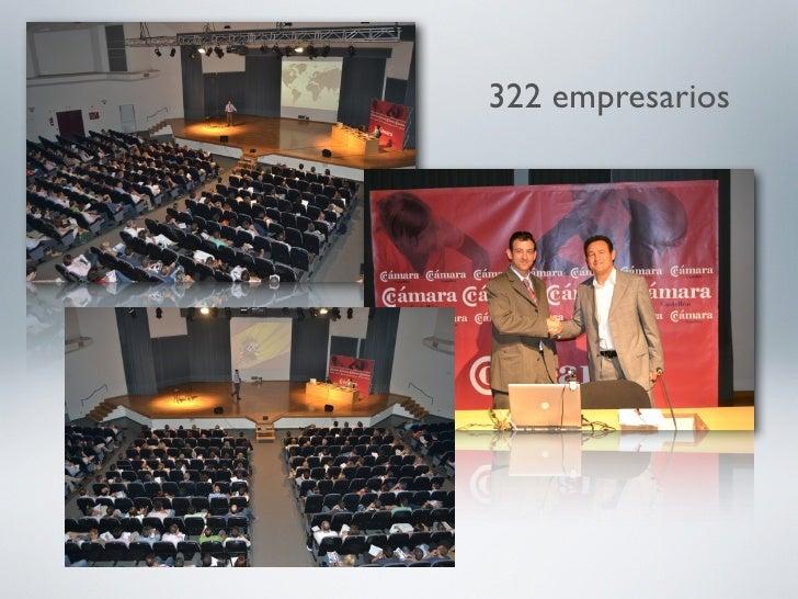 322 empresarios