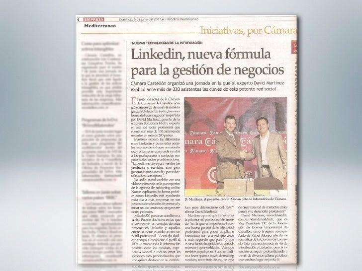 Talleres  2011Como crear un perfil eficaz en LinkedIn