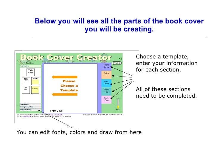 Book Cover Creator : Book cover creator