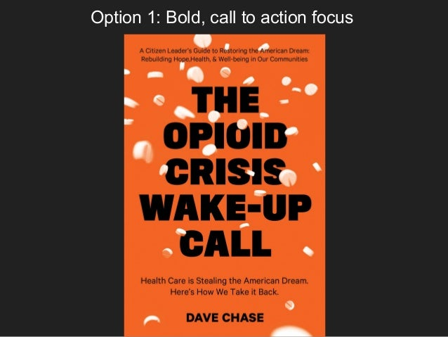 Option 1: Bold, call to action focus