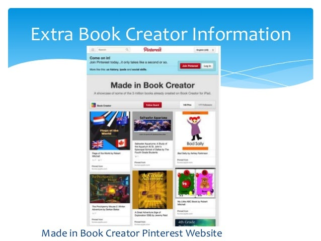 Creating eBooks Using the Book Creator App