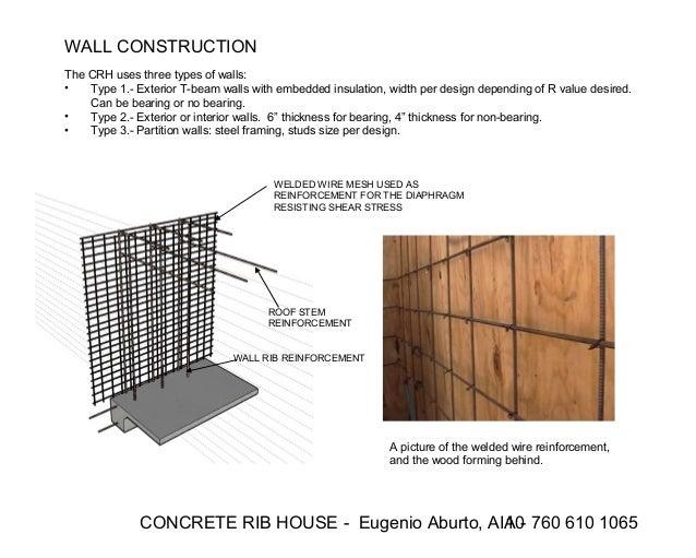 Concrete Rib House Complete