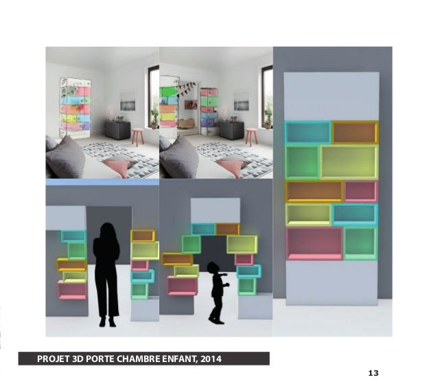 13  PROJET 3D PORTE CHAMBRE ENFANT, 2014