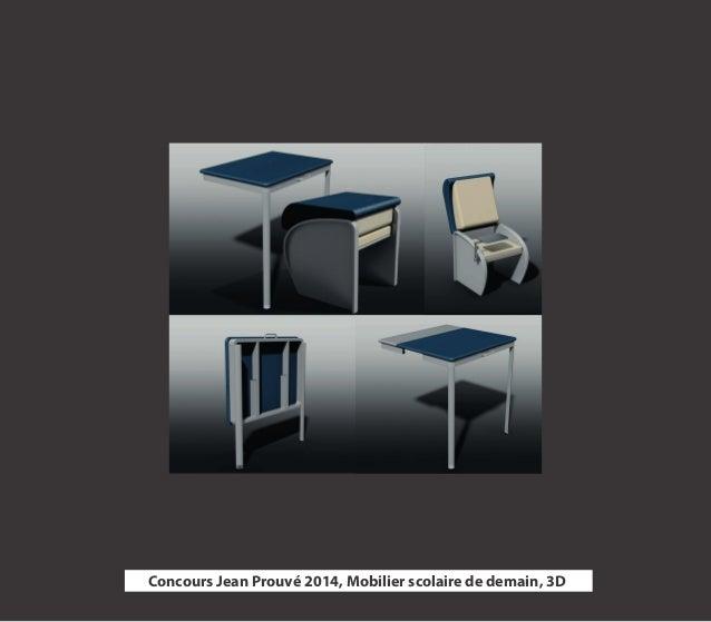 17  Concours Jean Prouvé 2014, Mobilier scolaire de demain, 3D