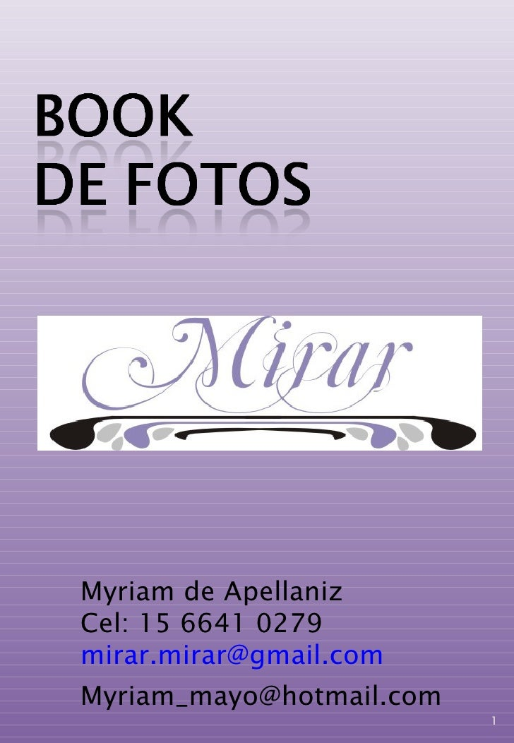Myriam de Apellaniz Cel: 15 6641 0279 [email_address] [email_address]