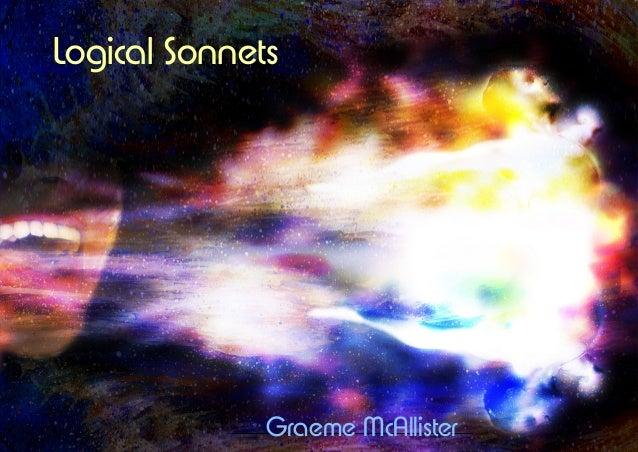 Logical Sonnets Graeme McAllister