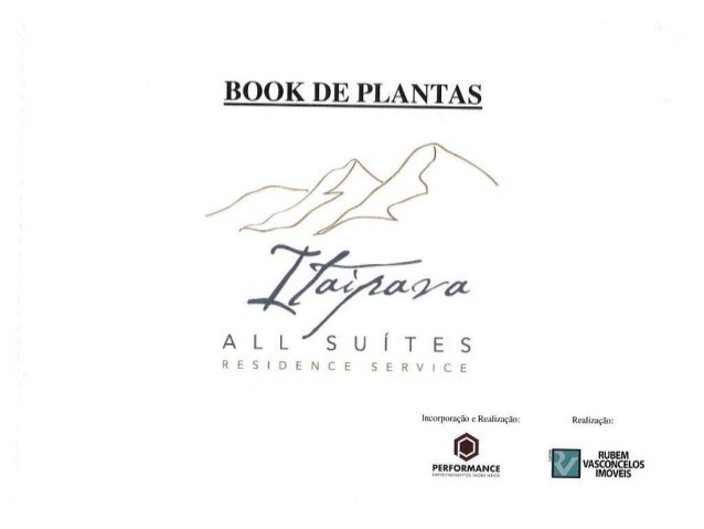 Plantas Itaipava All Suites Residence Service - Vendas (21) 3021-0040 - ImobiliariadoRio.com.br