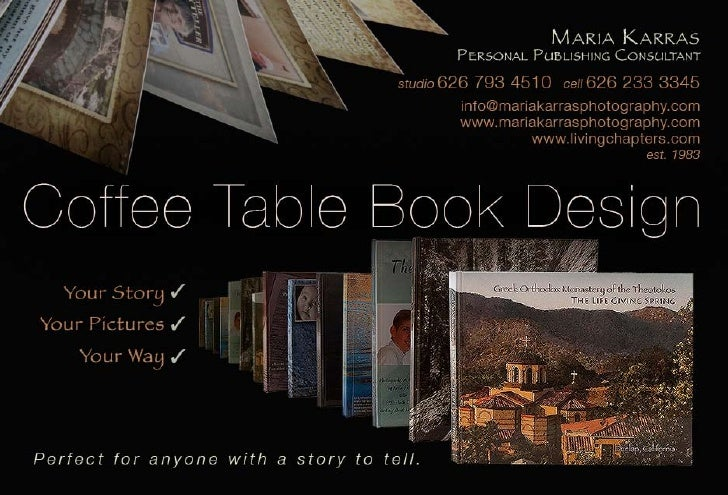 Coffee Table Book Design and Publishing