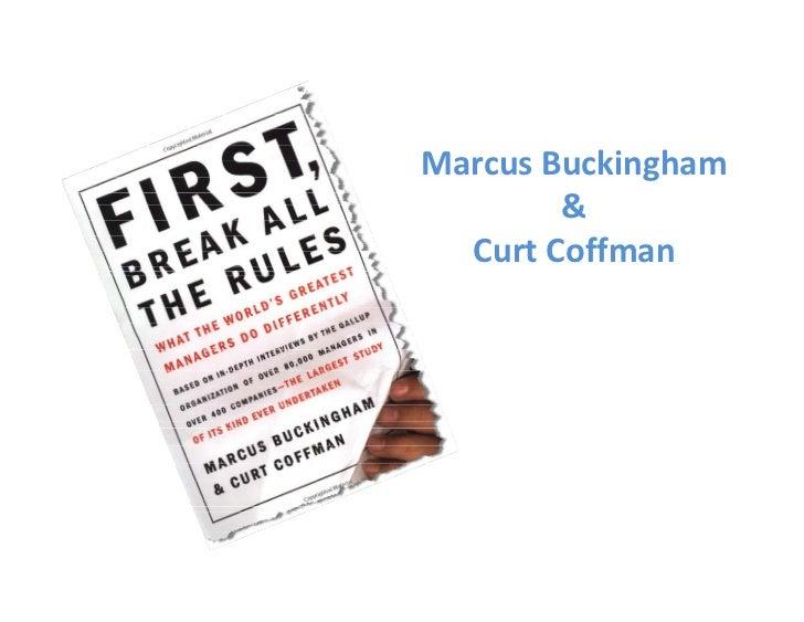MarcusBuckingham         &   CurtCoffman