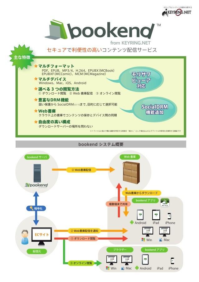 bookend紹介パンフ