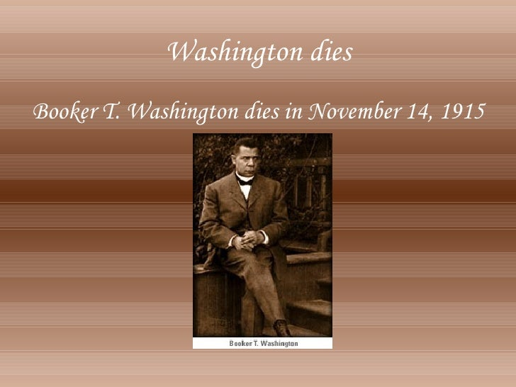 booker t. washington essay Booker t washington was the most famous black man in america between 1895  and 1915 he was also considered the most influential black educator of the.