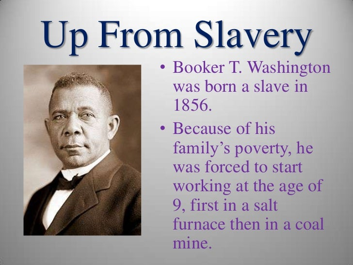 booker t washington writings Booker t washington biography of booker t washington and a searchable collection of works.
