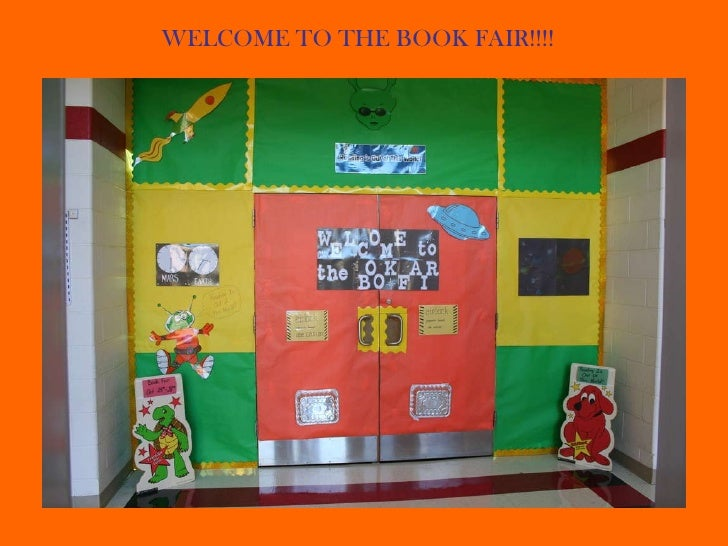 WELCOME TO THE BOOK FAIR!!!!