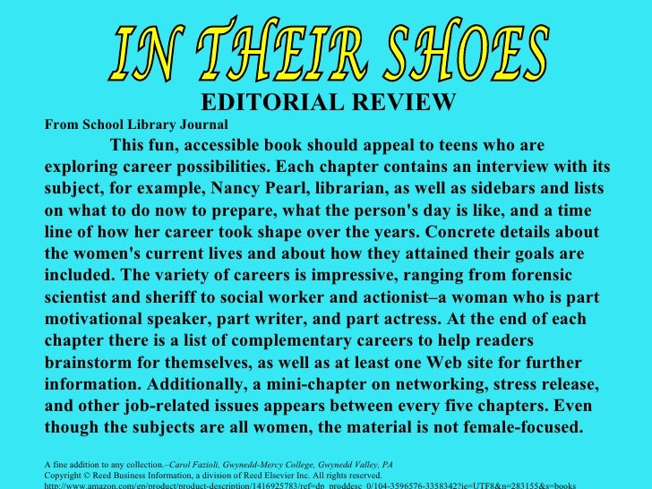 editorial book review