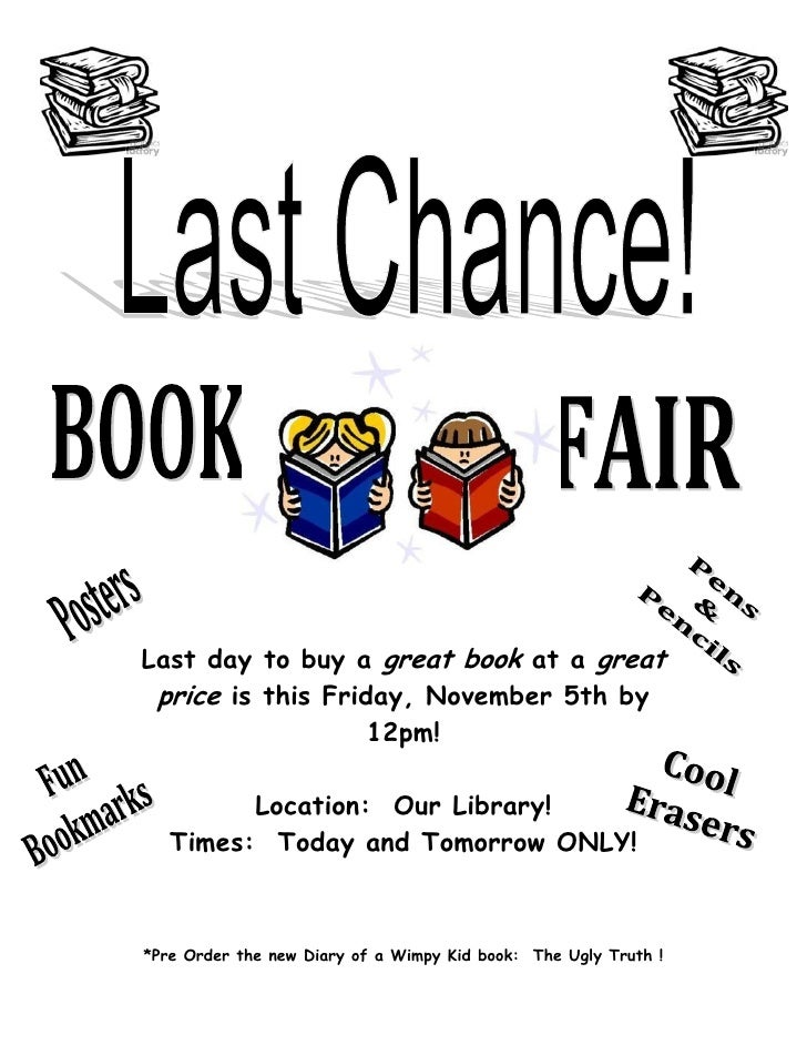 Last day to buy a great book at a great price is this Friday, November 5th by                   12pm!         Location: Ou...