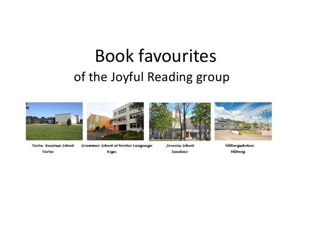 Book favourites of the Joyful Reading group