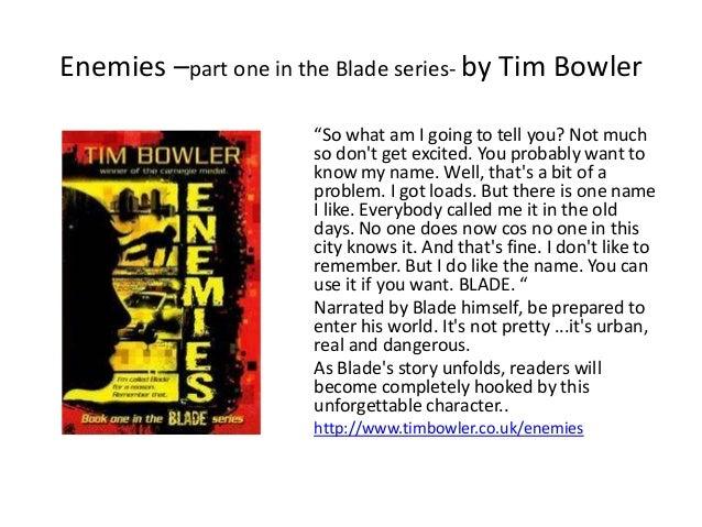 Blade tim bowler book stores near me