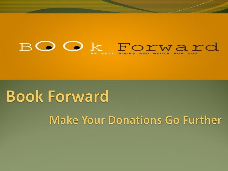 Who are we?Book Forward is a dedicated team that works with libraries or friends of libraries.We help libraries sell the...