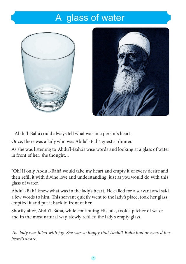 stories told by abdul baha english edition