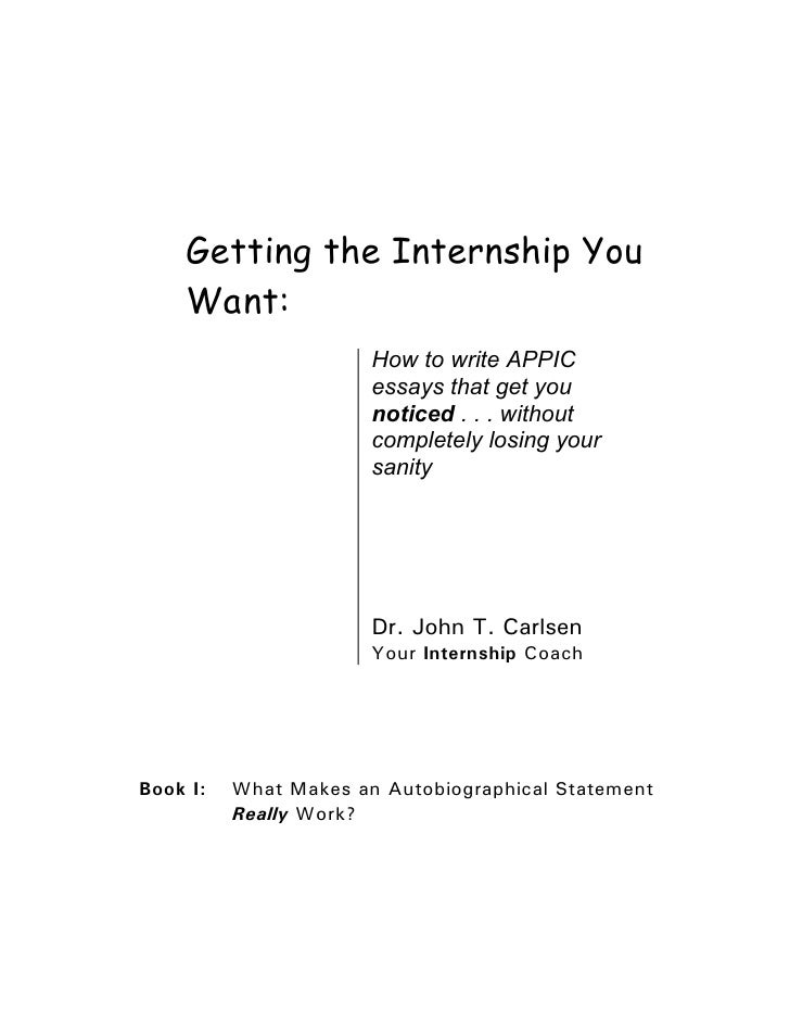 How to Write Essay or Motivation Letter for Internship
