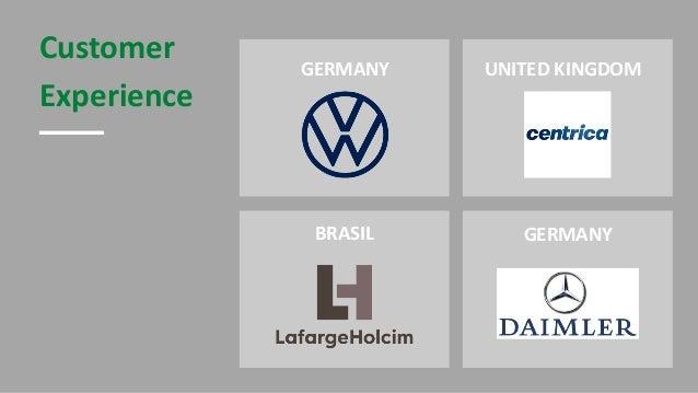 Customer Experience UNITED KINGDOMGERMANY GERMANYBRASIL