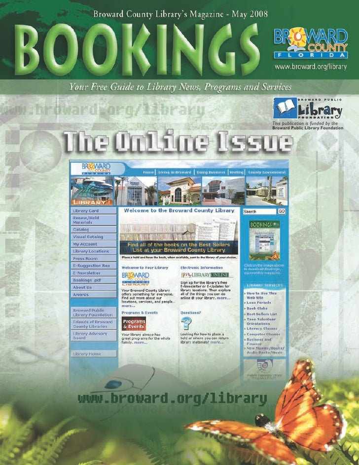 This publication is funded by the Broward Public Library Foundation