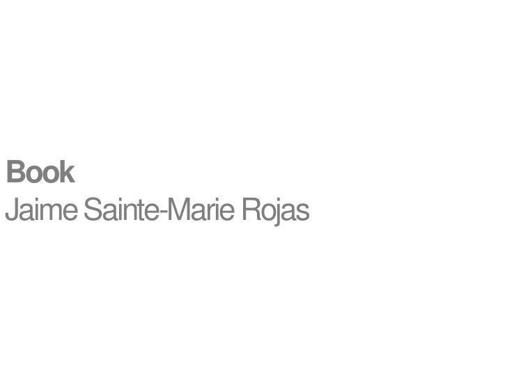 BookJaime Sainte-Marie Rojas