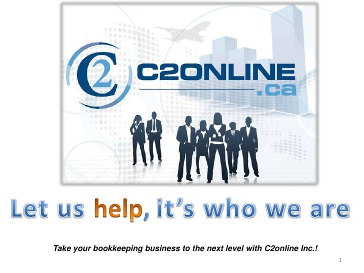 HR                       ,Take your bookkeeping business to the next level with C2online Inc.!                            ...
