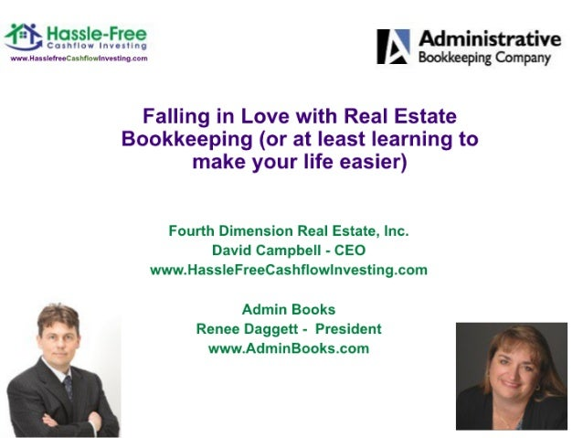 Bookkeeping hassle free cash flow investing presentation 02 28-12