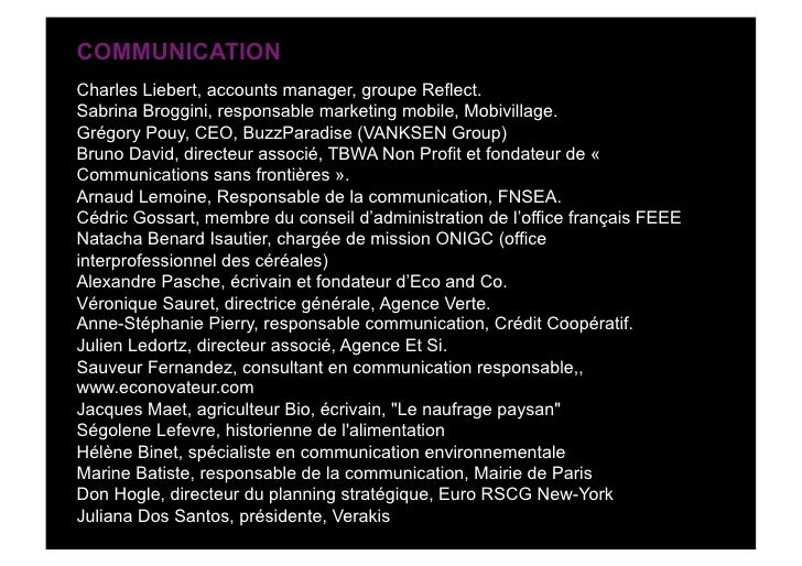 COMMUNICATION Charles Liebert, accounts manager, groupe Reflect. Sabrina Broggini, responsable marketing mobile, Mobivilla...