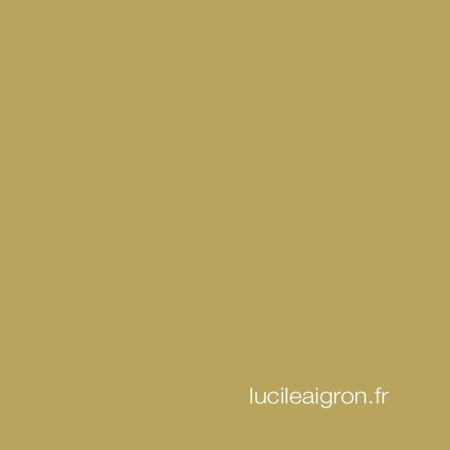 Book Lucile Aigron