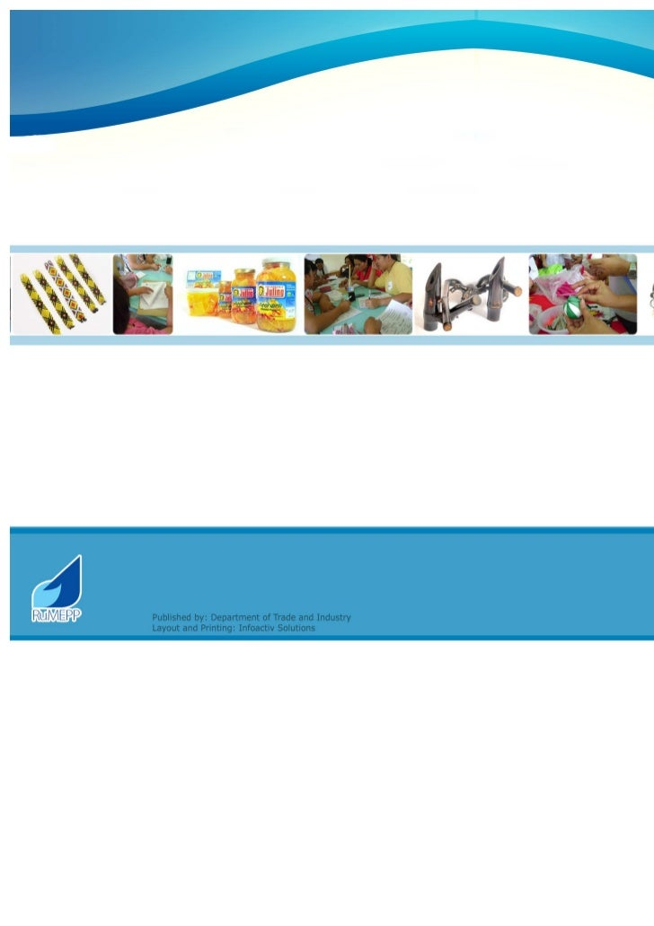 RuMEPP SC Product Catalogue Version 1, 2011